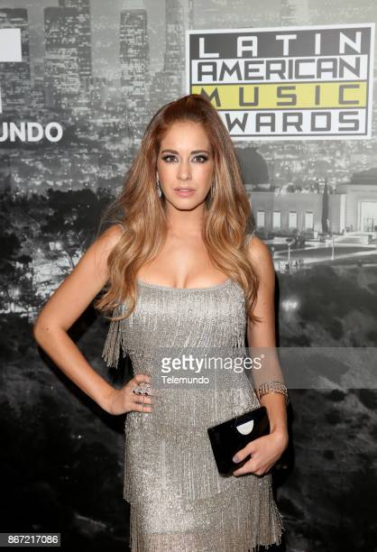 AWARDS 'Press Room' Pictured Carmen Aub at the Dolby Theatre in Hollywood CA on October 26 2017