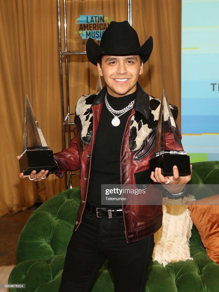 Latin American Music Awards - Season 2018 : News Photo
