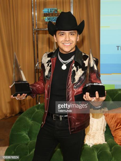 AWARDS Press Room Pictured Christian Nodal at the Dolby Theatre in Hollywood CA on October 25 2018