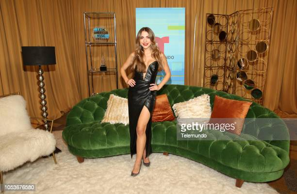 AWARDS Press Room Pictured Claudia Vergara at the Dolby Theatre in Hollywood CA on October 25 2018