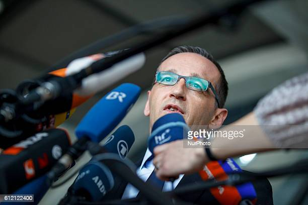 Press statement of German Minister of Justice Heiko Maas to the judgment of the European Court of Justice in the matter of stock data storage...