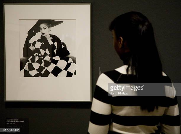 Press View Of The Irving Penn Portraits Exhibition At The National Portrait Gallery London