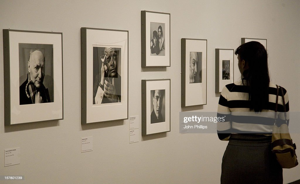 Press view of the irving penn portraits exhibition at theå national portrait gallery london