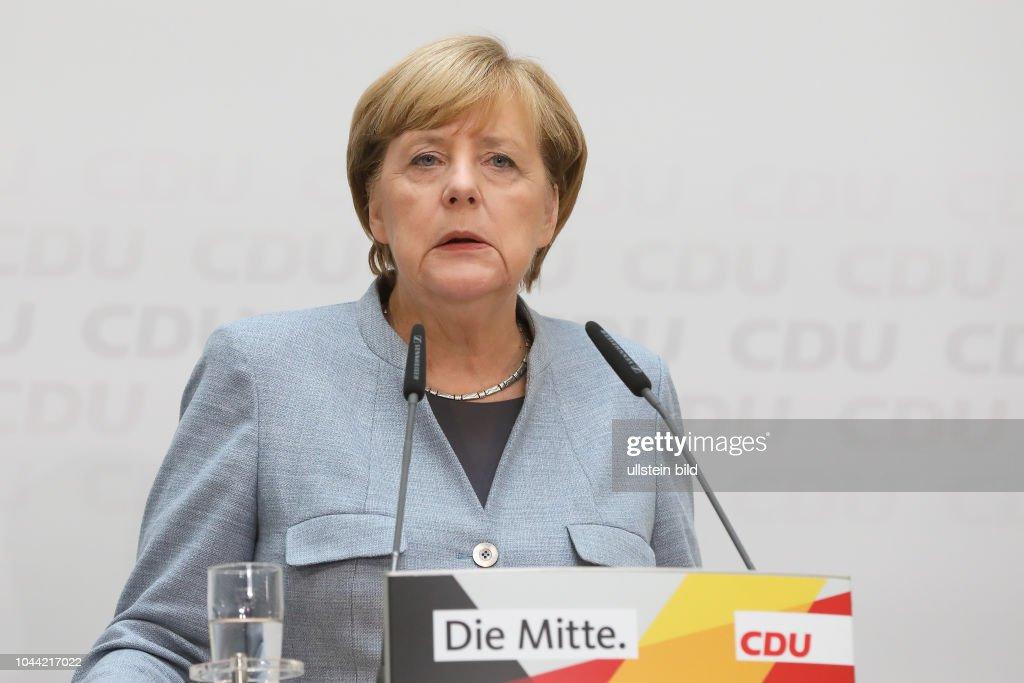 Bundeskanzlerin Pressekonferenz