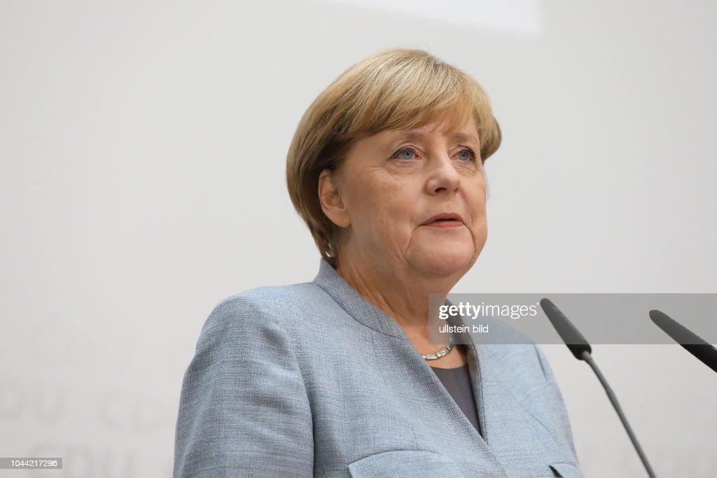 Pressekonferenz Bundeskanzlerin