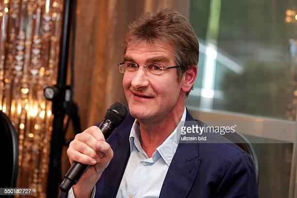 Pressekonferenz philCOLOGNE das internationale Festival der Philosophie vl Rainer Osnowski Dr Rainier van Roessel Florian Quecke Dr Wolfram...