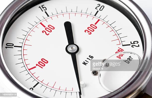 pressure gauge detail - pressure gauge stock photos and pictures