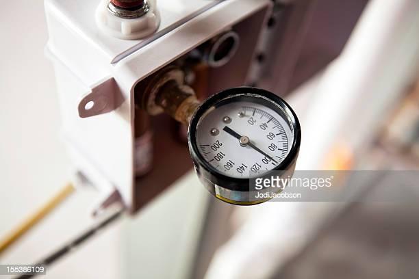 pressure gauge - pressure gauge stock photos and pictures