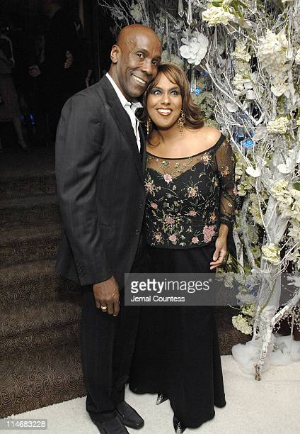 Preston Bailey and Jennifer Holliday during Preston Bailey Host Launch Party for His New Book Inspirations with Special Performance by Jennifer...