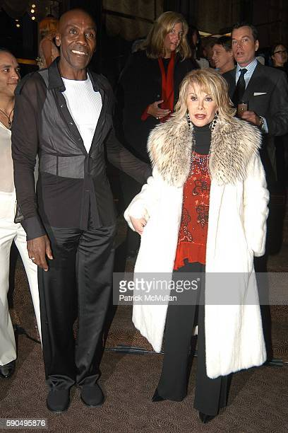 Preston Bailey and Joan Rivers attend Preston Bailey Event Designer for the Wedding of Donald Trump and Melania Knauss Celebrates the Publication of...