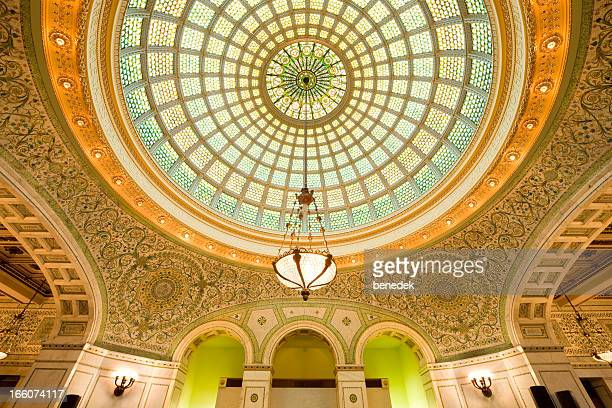 Preston Bradley Hall in the Chicago Cultural Center USA