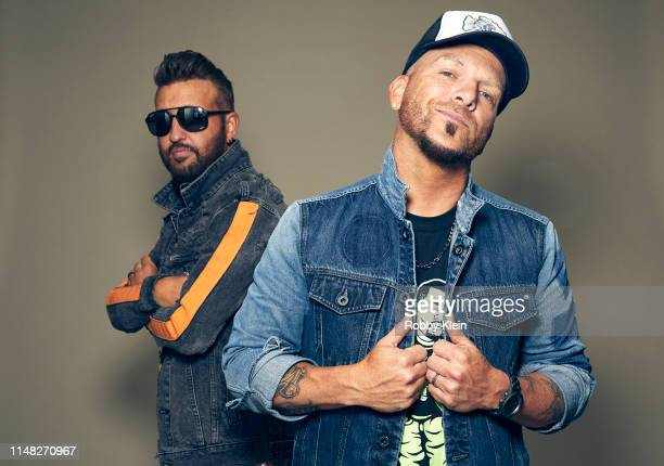 Preston Brust and Chris Lucas of LOCASH pose for a portrait during the 2019 CMT Music Awards at Bridgestone Arena on June 05 2019 in Nashville...