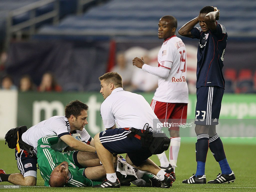 New York Red Bulls v New England Revolution : News Photo