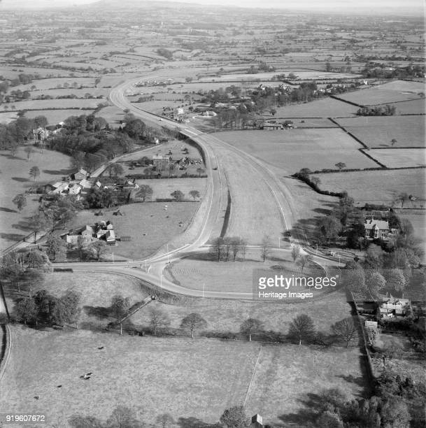 Preston Bypass Lancashire 1958 Britain's first motorway under construction It was opened by Harold MacMillan in December This is the north end at...