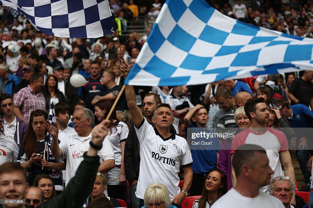 Swindon Town v Preston North End - Sky Bet League One Playoff Final : News Photo