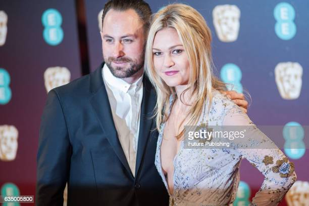 Preston J Cook and Julia Stiles attend the 70th British Academy Film Awards ceremony at the Royal Albert Hall on February 12 2017 in London England...