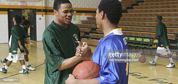 Preston Keres/TWP EDITTED KeresRemote Seneca Valley HS Germantown Md Brothers Chris Gee and Mike Echols play each other during boy's varsity...