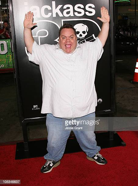 Preston Lacy arrives at the Jackass 3D Los Angeles Premiere at the Mann's Chinese Theater on October 13 2010 in Los Angeles California