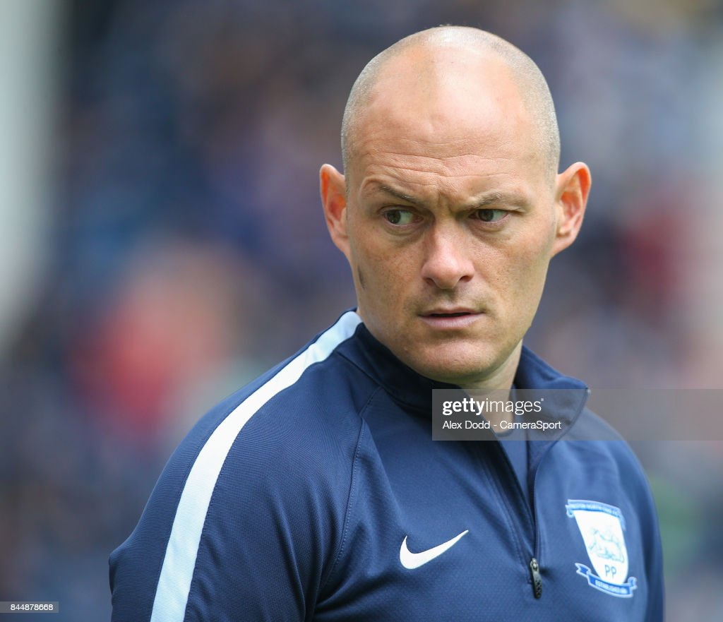 Preston North End manager Alex Neil during the Sky Bet Championship match between Preston North End and Barnsley at Deepdale on September 9, 2017 in Preston, England.