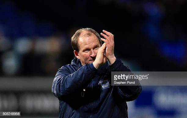 Preston North End Manager Simon Grayson after the Sky Bet Championship match between Ipswich Town and Preston North End at Portman Road on January 16...