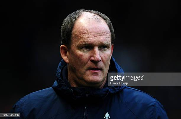 Preston North End Manager Simon Grayson during the sky Bet Championship match between Bristol City and Preston North End at Ashton Gate on December...