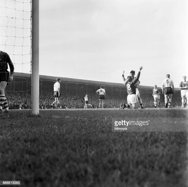 Preston North End v Middlesbrough, League Division Two. It's a hug for Middlesbrough's Ian Gibson from centre forward Arthur Horsfield after the...
