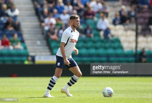 Preston North End's Alan Browne during the PreSeason Friendly match between Preston North End and Southampton at Deepdale on July 20 2019 in Preston...