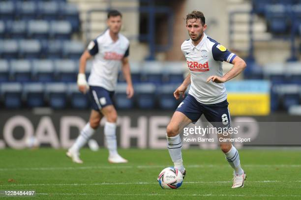 Preston North End's Alan Browne during the Sky Bet Championship match between Preston North End and Swansea City at Deepdale on September 12 2020 in...