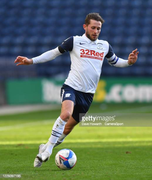 Preston North End's Alan Browne during the Sky Bet Championship match between Preston North End and Birmingham City at Deepdale on October 31, 2020...