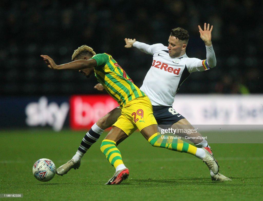 Preston North End v West Bromwich Albion - Sky Bet Championship : News Photo
