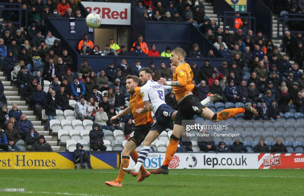 Preston North End v Hull City - Sky Bet Championship : News Photo