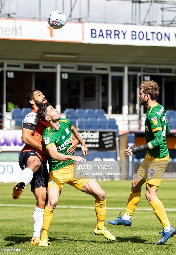Luton Town v Preston North End - Sky Bet Championship : News Photo