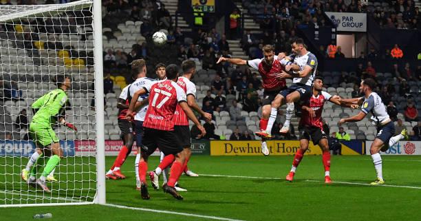 GBR: Preston North End v Cheltenham Town - Carabao Cup Third Round