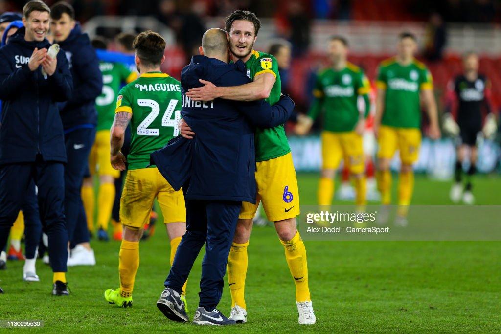 Middlesbrough v Preston North End - Sky Bet Championship : Nachrichtenfoto