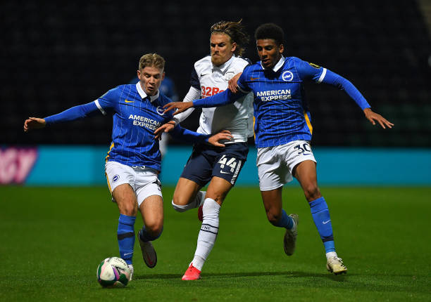 GBR: Preston North End v Brighton And Hove Albion - Carabao Cup Third Round