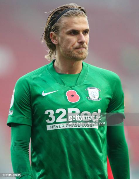 Preston North End's Brad Potts during the Sky Bet Championship match between Rotherham United and Preston North End at AESSEAL New York Stadium on...