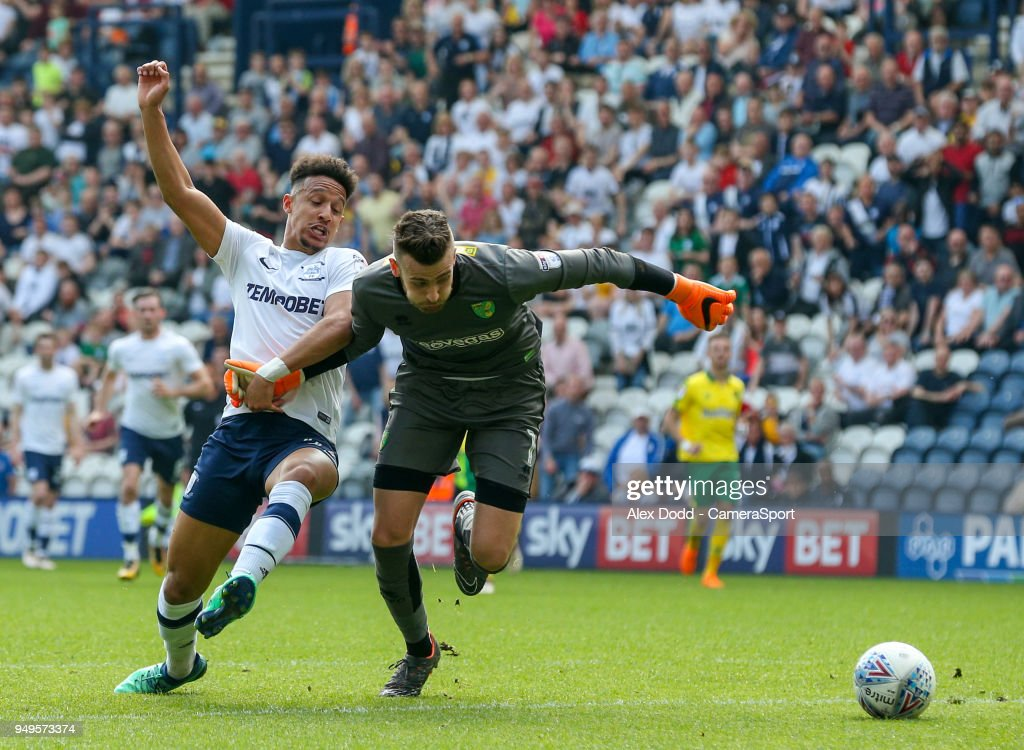 Preston North End v Norwich City - Sky Bet Championship