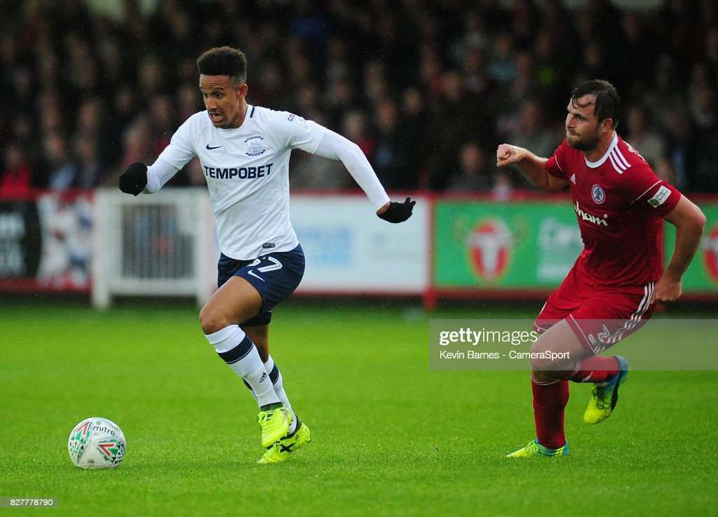 Accrington Stanley v Preston North End - Carabao Cup First Round : News Photo