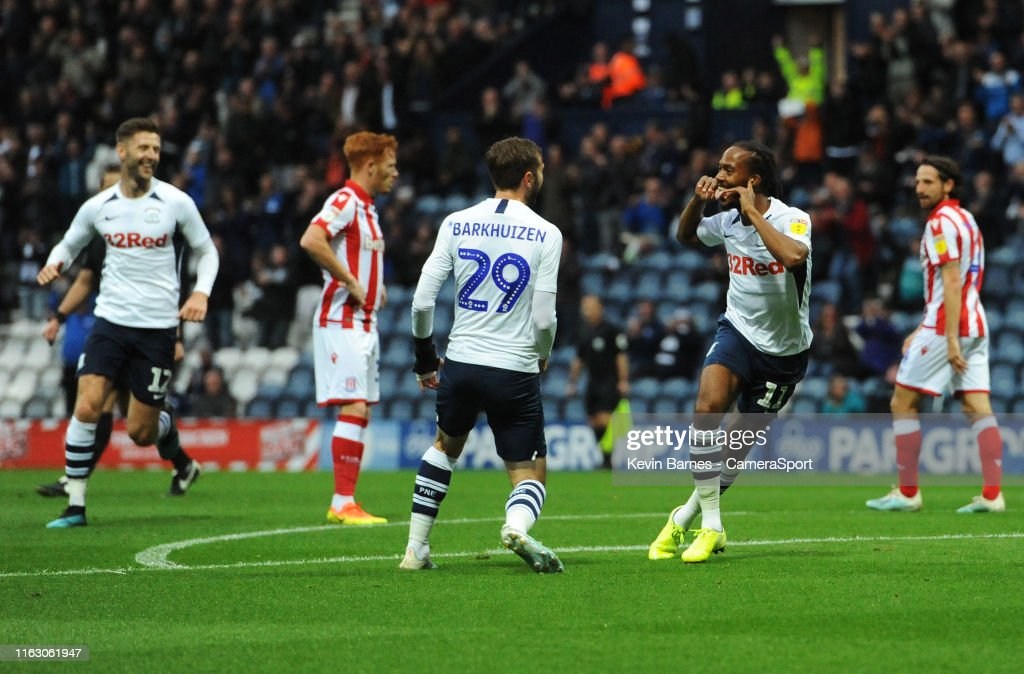 Preston North End v Stoke City - Sky Bet Championship : News Photo