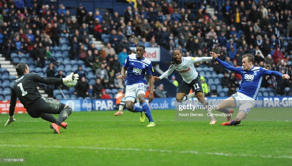 Preston North End v Birmingham City - Sky Bet Championship : News Photo