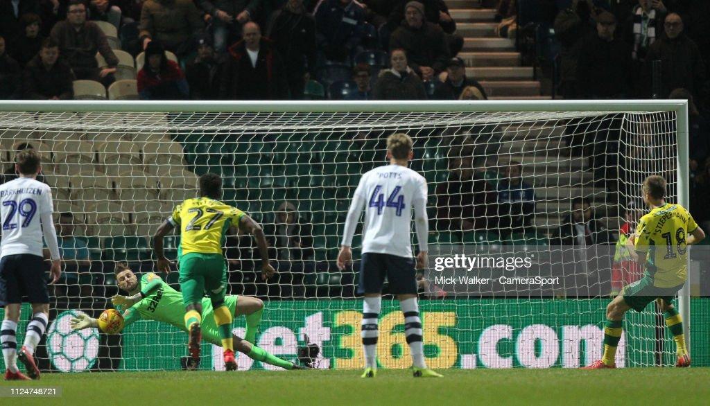 Preston North End v Norwich City - Sky Bet Championship : News Photo