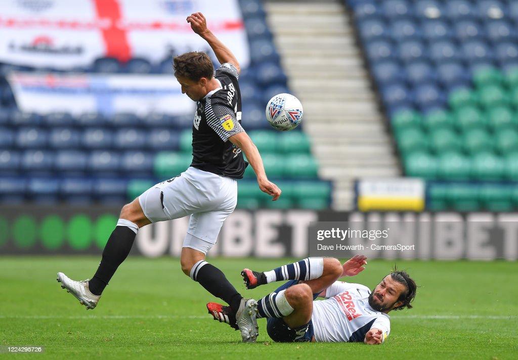 Preston North End v Derby County - Sky Bet Championship : News Photo