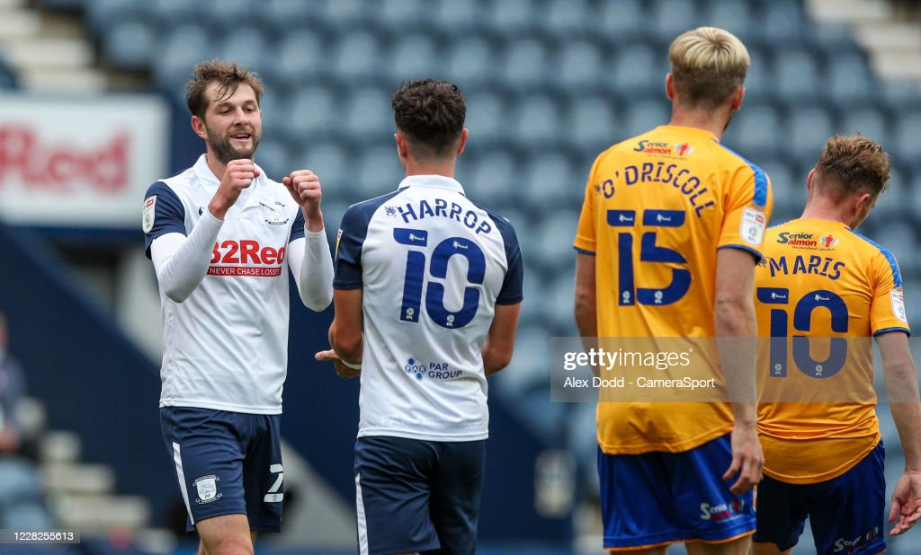 Preston North End v Mansfield Town - Carabao Cup First Round : News Photo