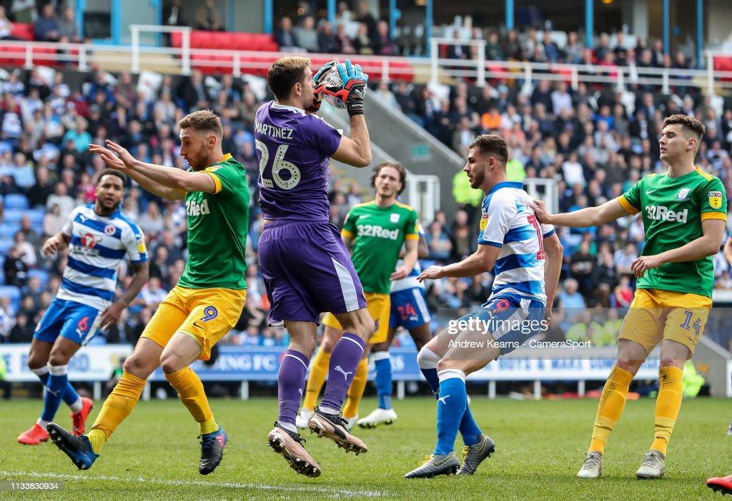 Reading v Preston North End - Sky Bet Championship : News Photo