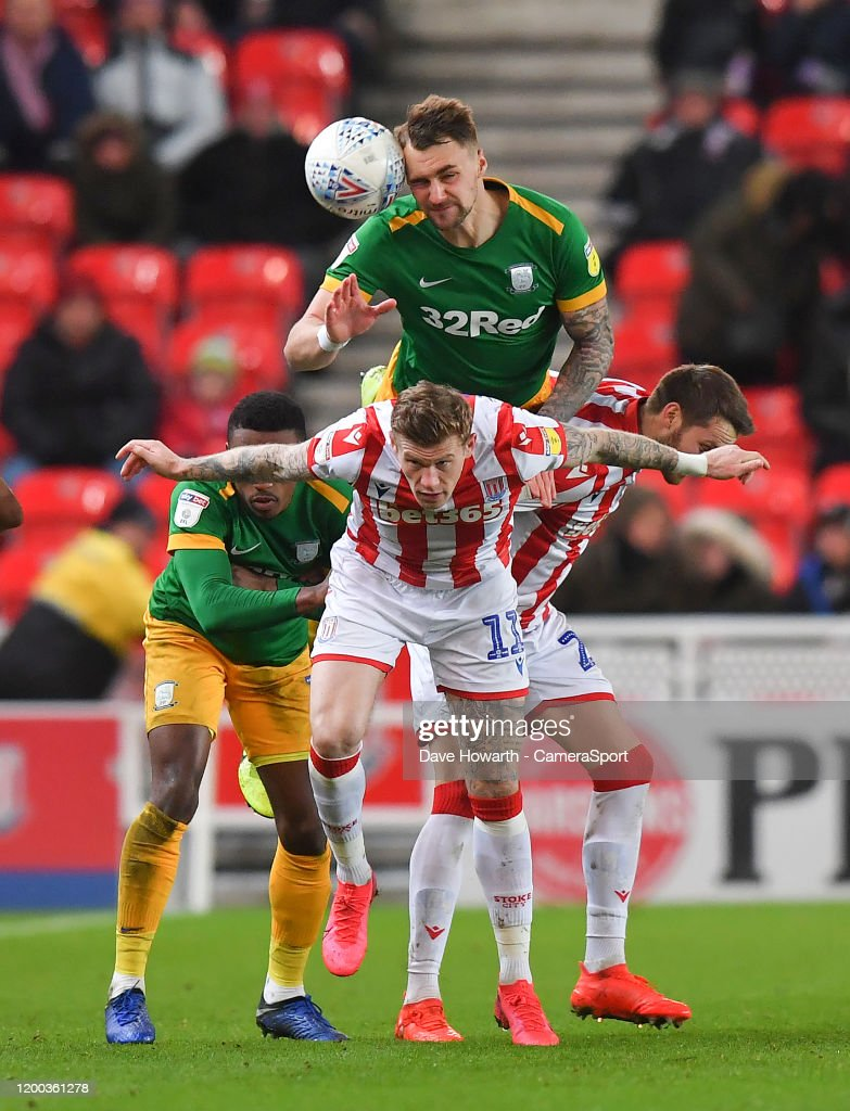 Stoke City v Preston North End - Sky Bet Championship : Nieuwsfoto's