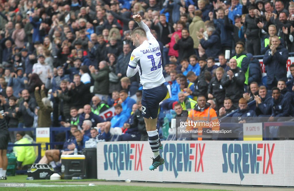 Preston North End v Wigan Athletic - Sky Bet Championship : Foto jornalística