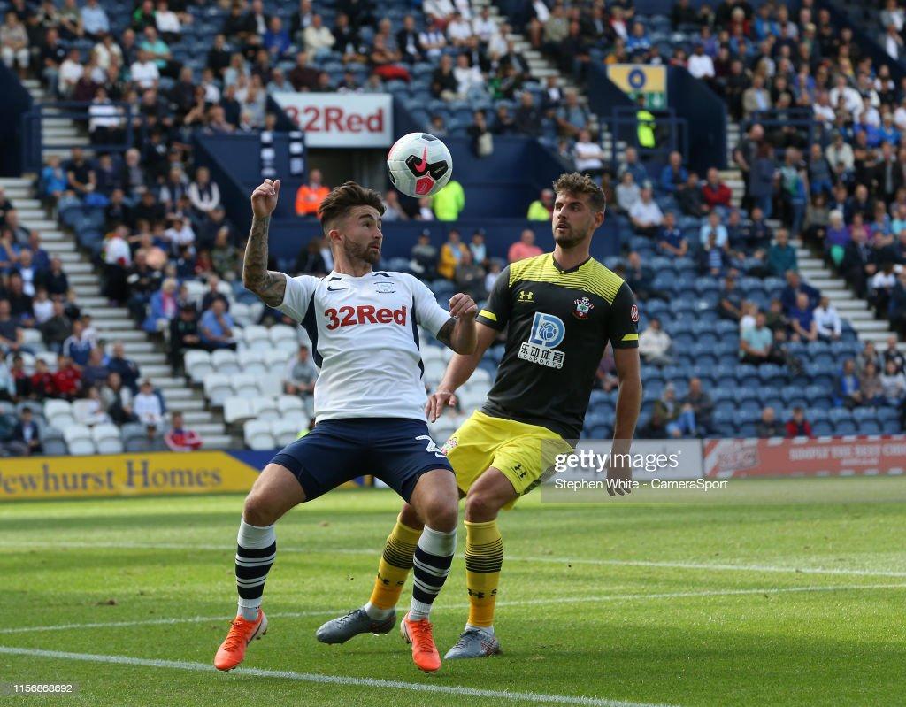 Preston North End v Southampton FC - Pre-Season Friendly : News Photo