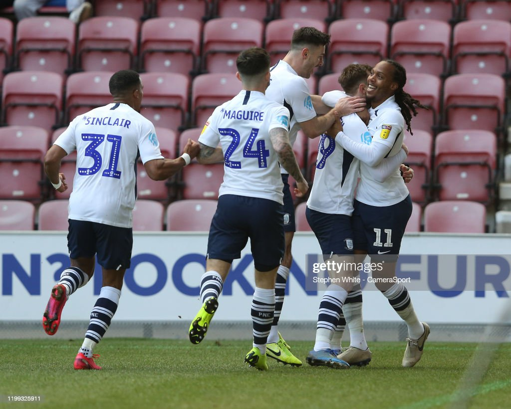 Wigan Athletic v Preston North End - Sky Bet Championship : News Photo