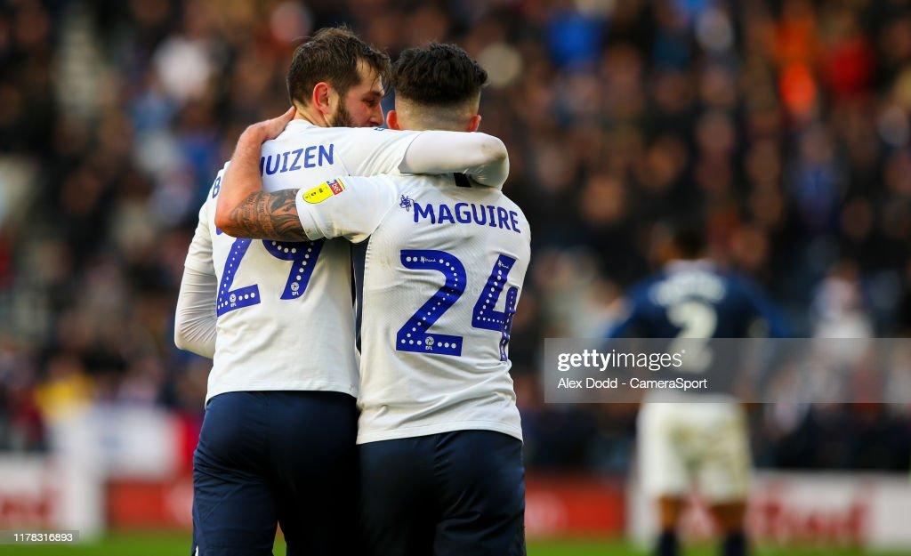 Preston North End v Blackburn Rovers - Sky Bet Championship : News Photo