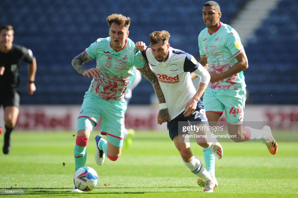 Preston North End v Swansea City - Sky Bet Championship : News Photo